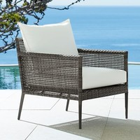 CAMMERAY ALL-WEATHER WICKER OCCASIONAL CHAIR