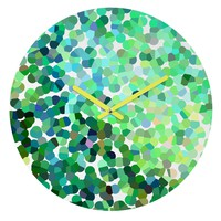 Rosie Brown Bubbles Round Clock