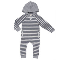 Aspen Hooded Romper MOON