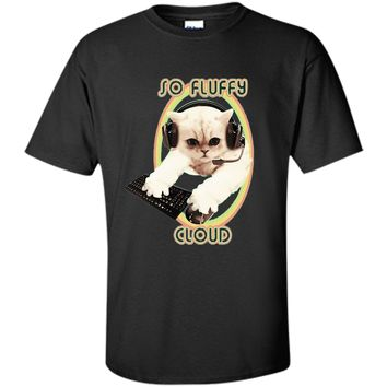 "PopularMMOs ""So Fluffy Cloud"" T Shirt graphic"
