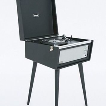UO X Dansette Black Standing Record Player UK Plug - Urban Outfitters