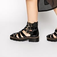 To Be Announced Arrows Chunky Gladiator Sandals