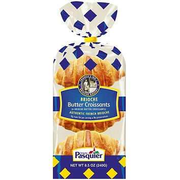 Brioche Pasquier French Butter Croissants 8.5 oz. (240g)