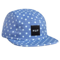 HUF - CHAMBRAY STARS VOLLEY // BLUE / WHITE