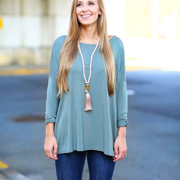 Piko Top - Olive