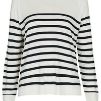 Knitted Breton Stripe Top - New In This Week  - New In