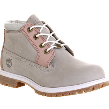Timberland Nellie Chukka Double Waterproof Boot Wind Chime Nubuck Exclusive - Ankle Boots