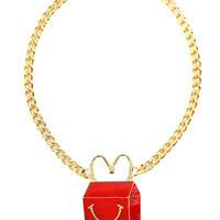 HAPPY MEAL NECKLACE