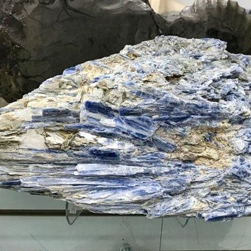 Blue Kyanite Crystal Cluster Specimen from Brazil | High Quality Specimen Large Crystal