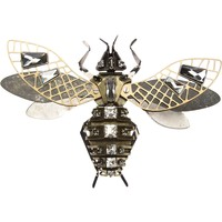 LANVIN embellished insect brooch