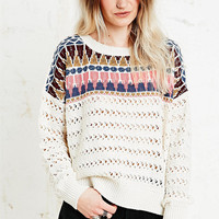 Staring at Stars Dagger Pop Sweater - Urban Outfitters