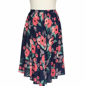 Sunflower Skirt Spanish Rose by RIFLE PAPER Co. | Imported