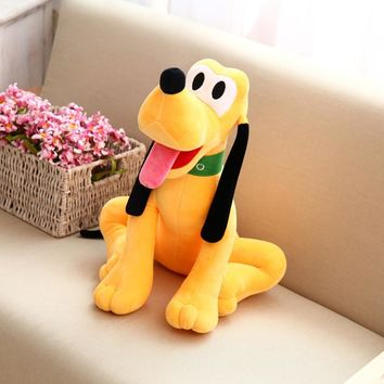 1pc Cute 50/60cm Pluto Soft Plush Toys Goofy Dog Kawaii Friend Doll Stuffed Toys Sofa Home Decor Child Kids Birthday Party Gift