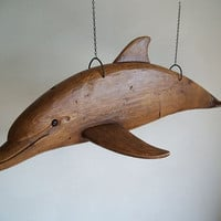 Hand Carved Dolphin