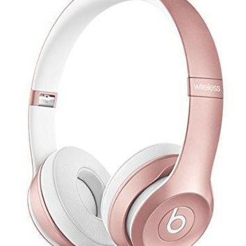 Beats By Dr Dre Solo2 Solo 2 Wireless On Ear Headphones Rose Gold Mllg2pa/a