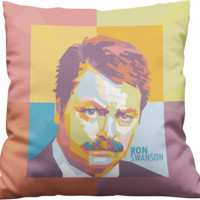 Ron Swanson Pillow