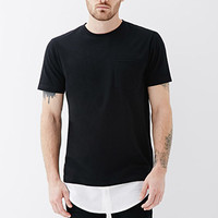 Layered Pocket Tee