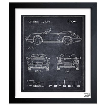 Oliver Gal, Porsche 911, 1990, Acrylic / Lucite, Drawings