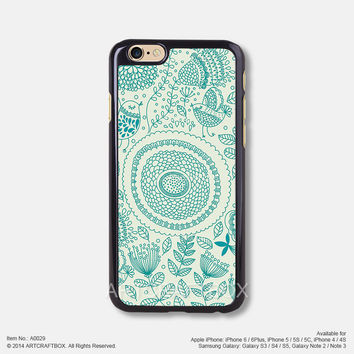 Mandala flower floral pattern Free Shipping iPhone 6 6Plus case iPhone 5s case iPhone 5C case 029