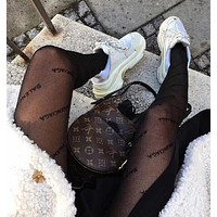 Balenciaga Classic Popular Women Sexy Sockings Long Socks