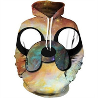 Adventure Time Jake Galaxy Hoodie