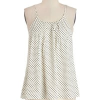 ModCloth Mid-length Spaghetti Straps Darling Day Maker Top