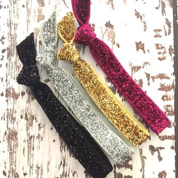 Sparkle & Shine Hair Tie OR Headband Collection