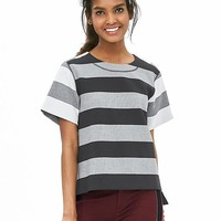 Banana Republic Womens Striped Boxy Top