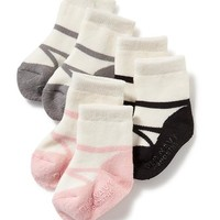 Old Navy 3 Pack Non Skid Socks