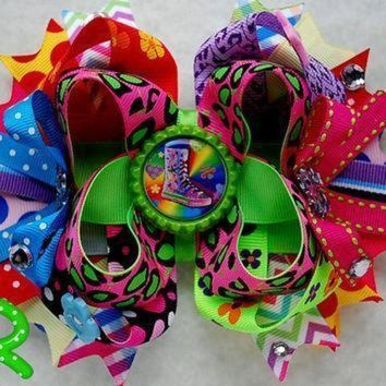 ICIKGQ8 mtm twinkle toes shoes hair bow all star converse skechers hair bow boutique