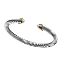 5mm Pearl Cable Classics Bracelet, Small - David Yurman