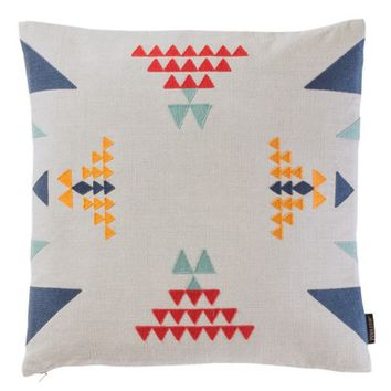 Pendleton Point Reyes Crewel Embroidered Accent Pillow | Nordstrom