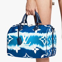 Louis Vuitton LV printed letter gradient women's shopping shoulder bag