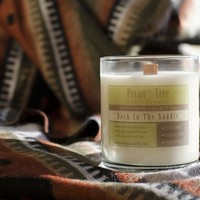 Back In The Saddle Soy Candle from Pecan Tree Candle Company
