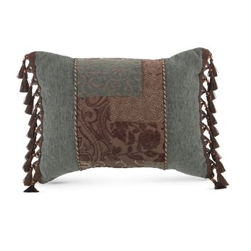 Croscill Galleria Brown Boudoir Pillow | Overstock.com Shopping - The Best Deals on Throw Pillows