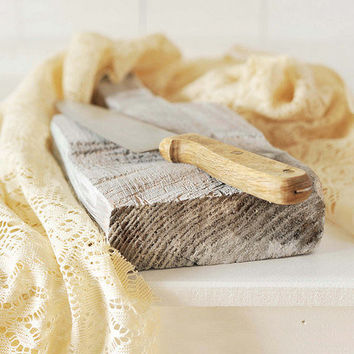Handmade Rustic Cutting Board - Food Styling Prop