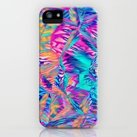 Abstract Colorful Pattern iPhone Case by tmarchev