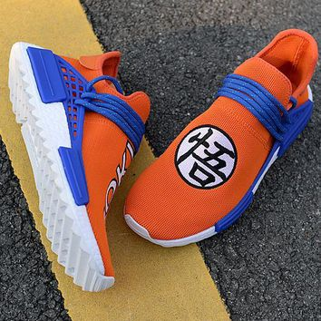 Adidas Human Race NMD Male and female fashion sneakers-9
