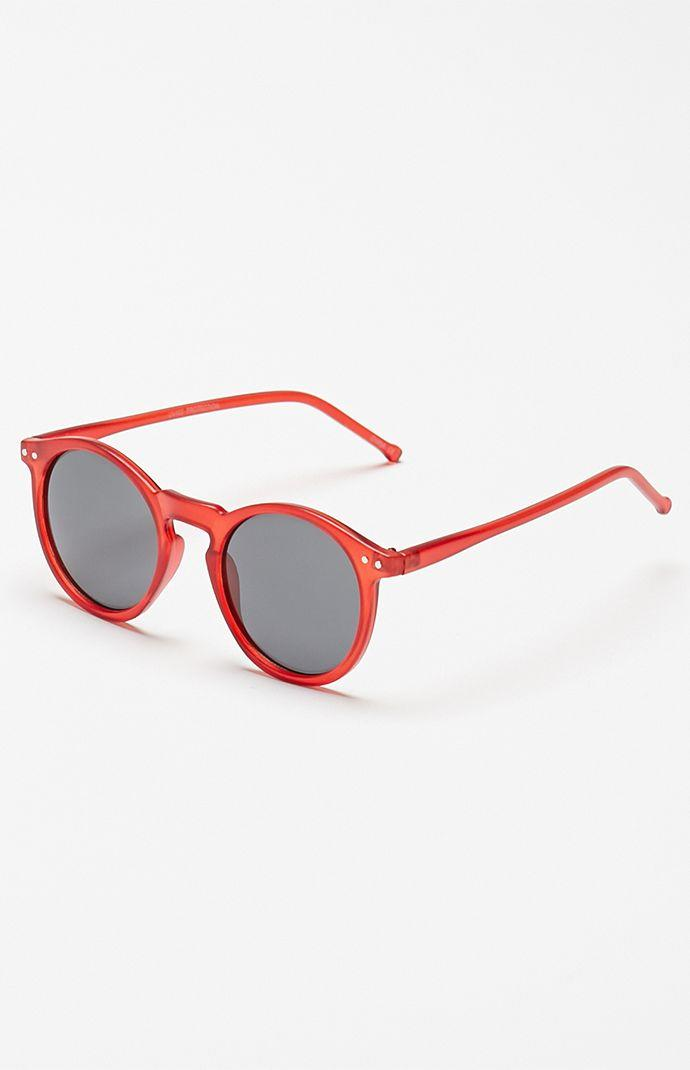 a28ff9d7ae6 PacSun Round Crystal Red Sunglasses - Mens Sunglasses - Crimson - NOSZ