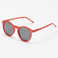 PacSun Round Crystal Red Sunglasses - Mens Sunglasses - Crimson - NOSZ