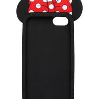 3D Minnie Mouse iPhone 5/5s Case - Multi