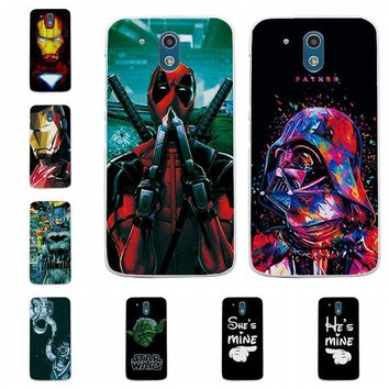 """Deadpool Dead pool Taco Charming  Spiderman Case Coque For HTC Desire 526 526G 326 326G Soft TPU Phone Cases For HTC 526 4.7"""" Back Cover Capa AT_70_6"""