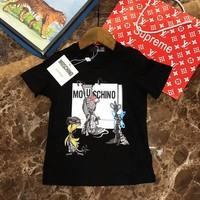2018 Childrens Cheap  Moschino T Shirt hot sale ※041