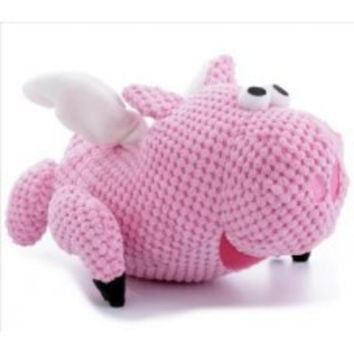GoDog - Flying Pig Dog Toy