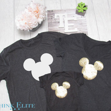 Family Disney shirts  Made by Thinkelite1