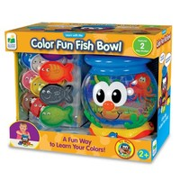 The Learning Journey Learn with Me, Color Fun Fish Bowl - Walmart.com