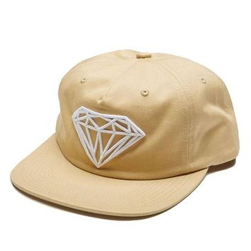ONETOW Diamond Supply Co. - Brilliant Unconstructed Snapback - Khaki