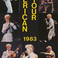 David Bowie American Tour 1983 Poster 23x34