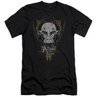 HOBBIT/AZOG-S/S ADULT 30/1-BLACK-SM