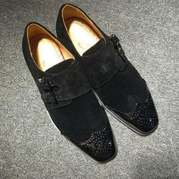 DCCK2 Cl Christian Louboutin Loafer Style #2353 Sneakers Fashion Shoes